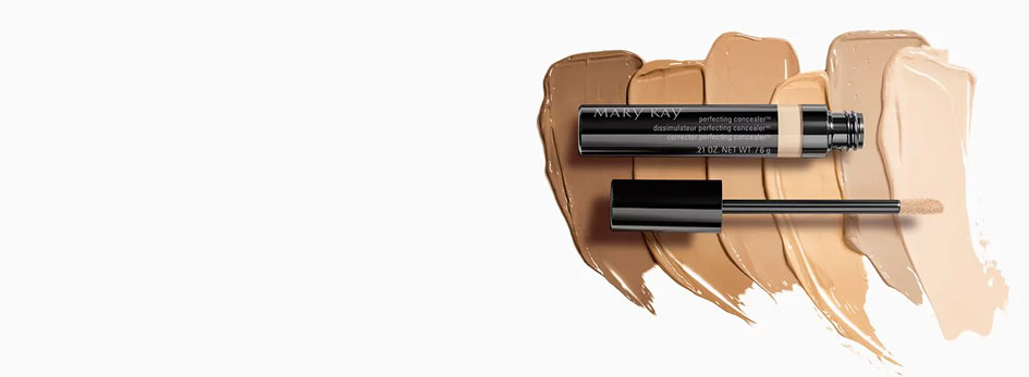 Learn about NEW Mary Kay Perfecting Concealer and NEW Undereye Corrector.