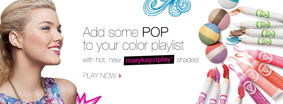 Add some POP to your color playlist with hot, new Mary Kay at Play shades!