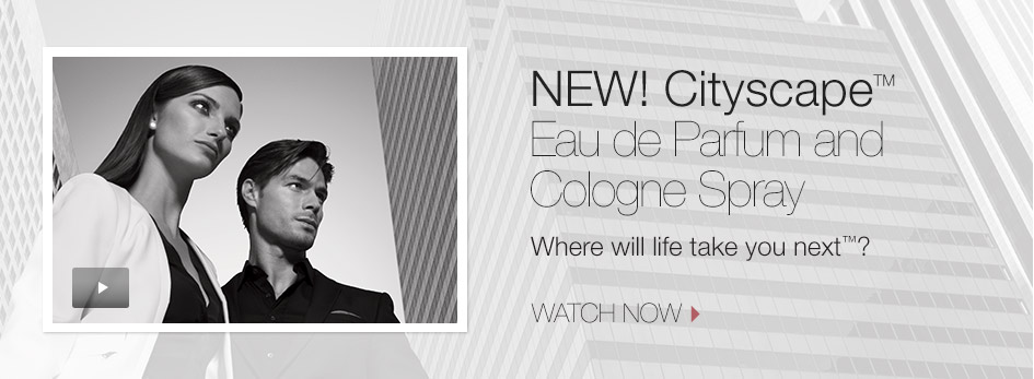 New! Cityscape Eau de Parfum and Cologne Spray. Where will life take you next? Experience the video now.