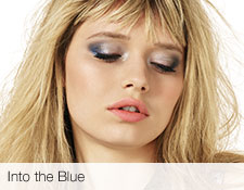 Get the step-by-step application tips for the Into the Blue look created by Mary Kay Global Makeup Artist Keiko Takagi.